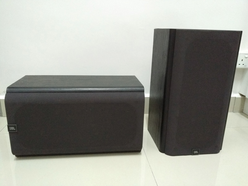 JBL HT1F USA Made Monitor Bookshelf Speaker Img_2161