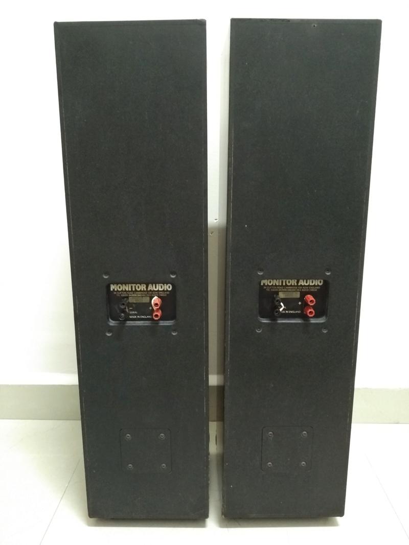 Monitor Audio 14 England Made Floorstanding Speaker  Img_2171