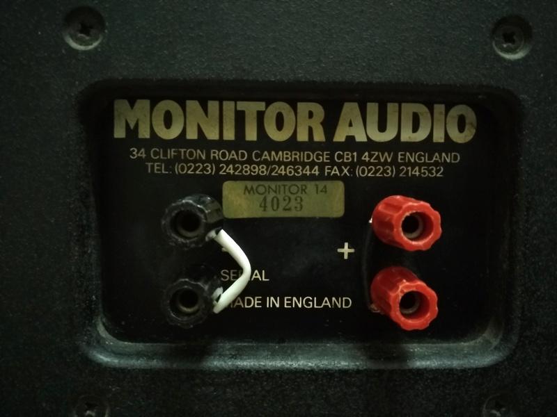 Monitor Audio 14 England Made Floorstanding Speaker  Img_2173
