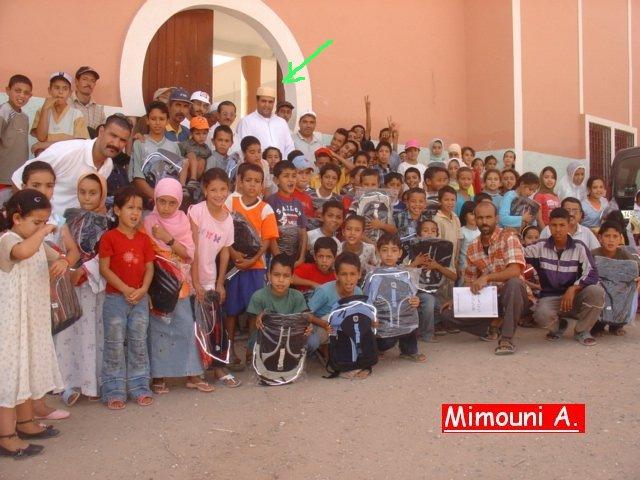 نشطاء في الميدان الثقافي والجمعوي أولاد ميمون Mimoun14