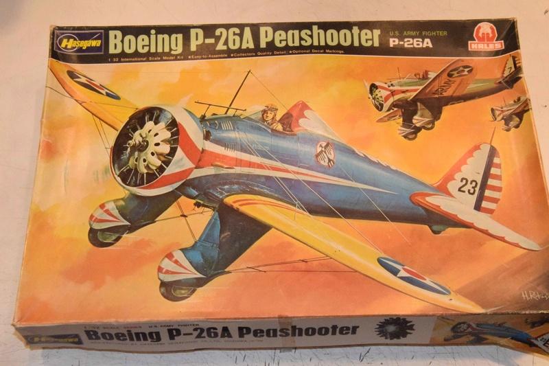 Boeing P-26A Peashooter Hasegawa 1/32 Dsc_0089