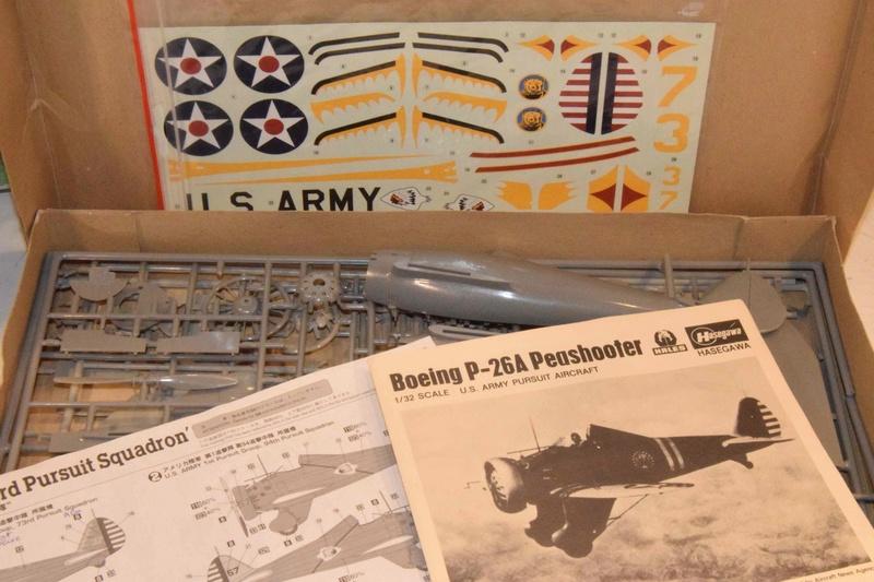 Boeing P-26A Peashooter Hasegawa 1/32 Dsc_0090