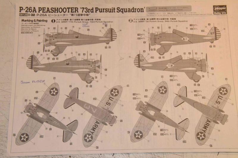 Boeing P-26A Peashooter Hasegawa 1/32 Dsc_0094