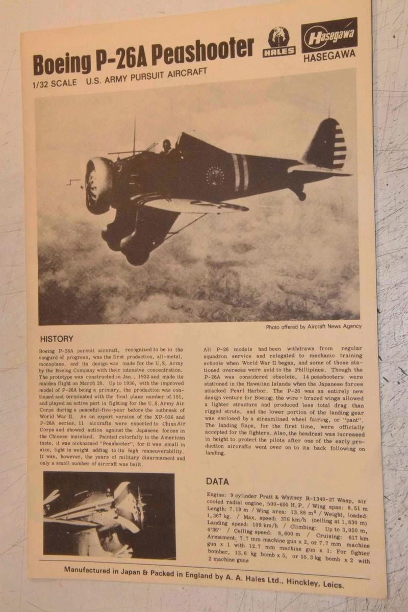 Boeing P-26A Peashooter Hasegawa 1/32 Dsc_0095