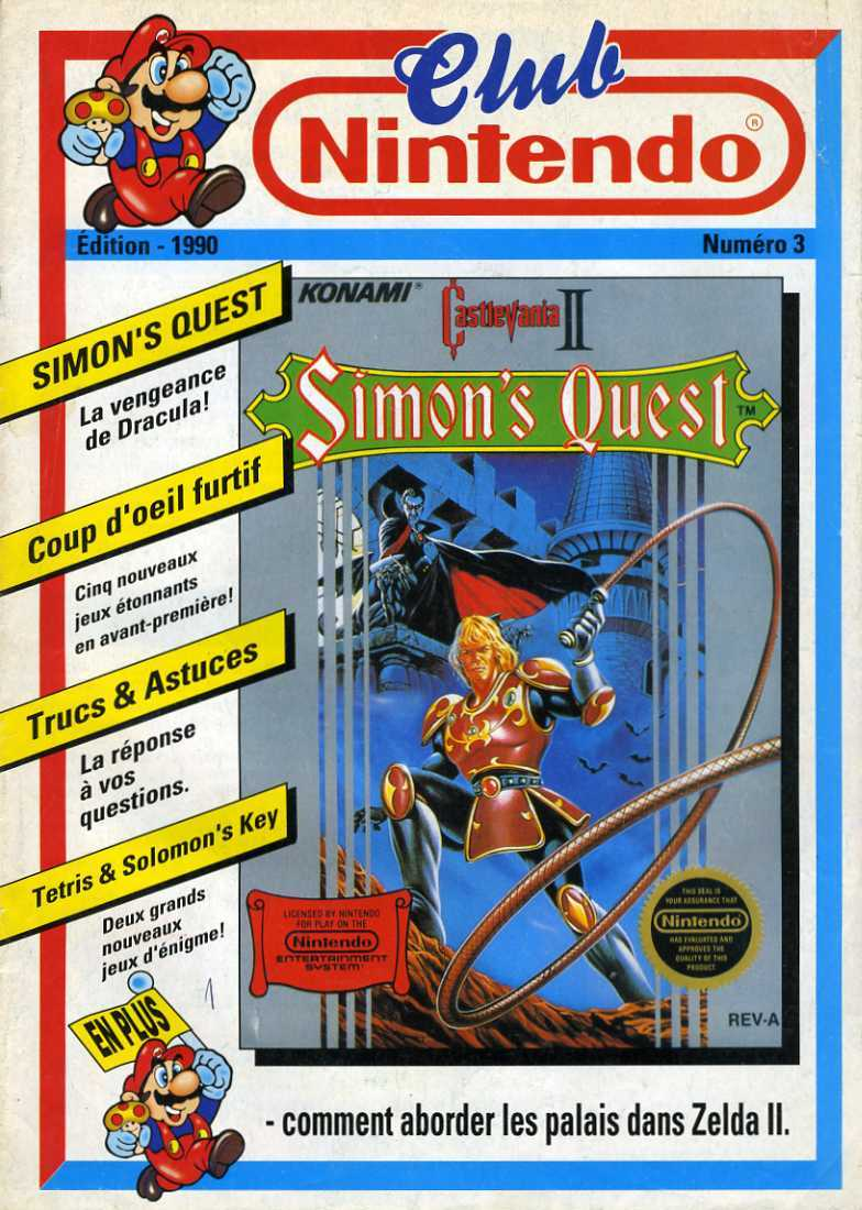 Rétrospective sur le Club Nintendo en France - Partie 1 1990_010