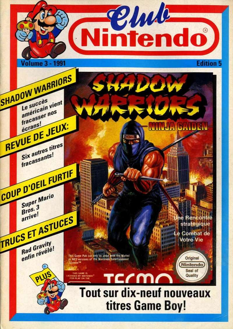 Rétrospective sur le Club Nintendo en France - Partie 1 1991_011