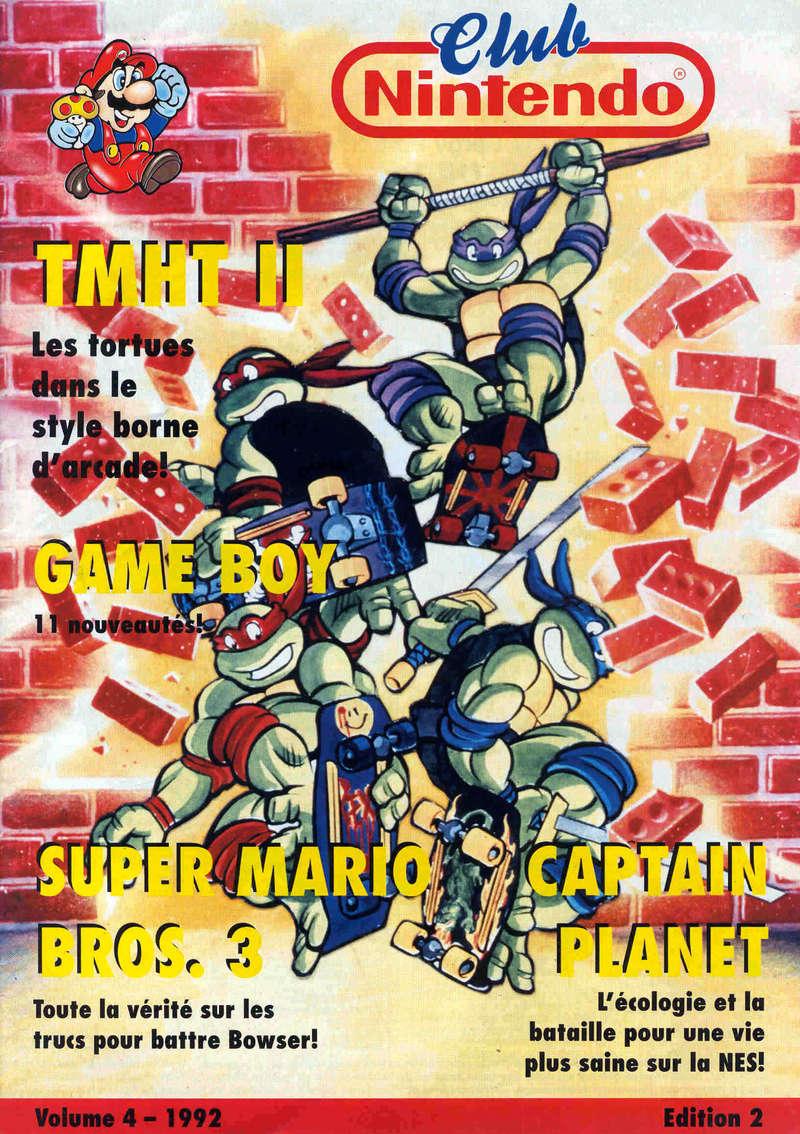 Rétrospective sur le Club Nintendo en France - Partie 1 1992_010