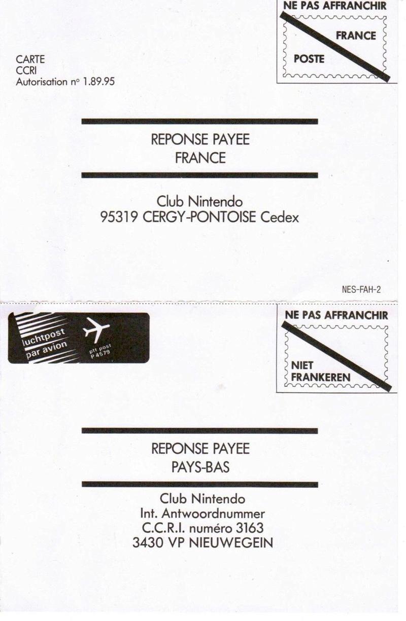 Rétrospective sur le Club Nintendo en France - Partie 1 Carte_10