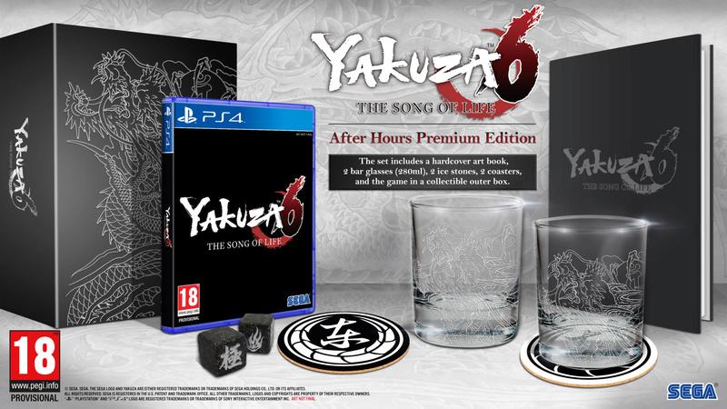 Yakuza 6 Edition Collector Collec10