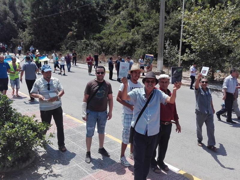 Aokas 29 juillet 2017 : Impressionnante marche pour la liberté d'expression 1145