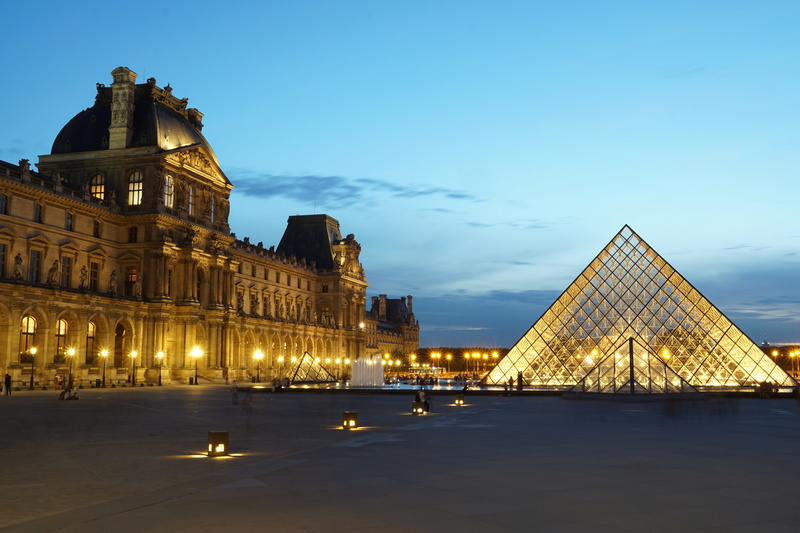 Pyramides du Louvres 2 Dsc01611