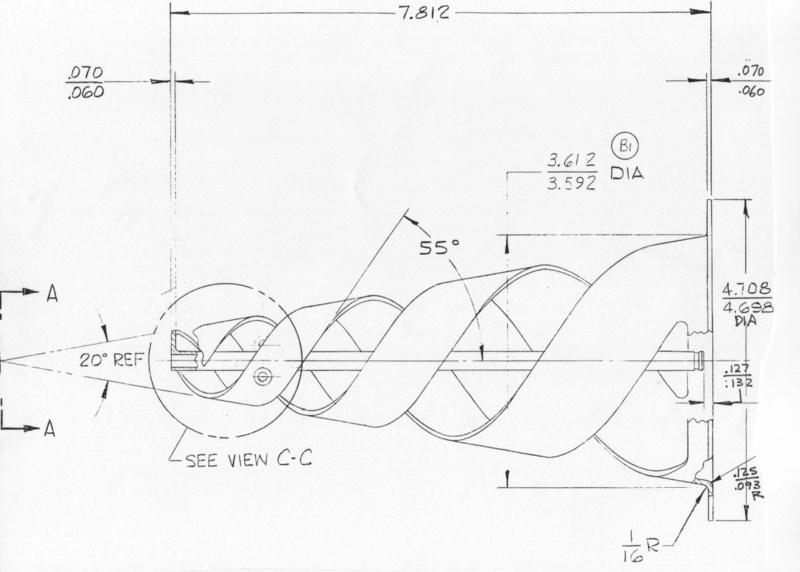 Plan antenne module lunaire Sb-110