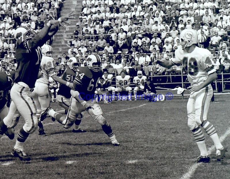 Dolphins 1966 mid-season logo switch S-l16010