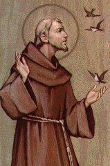 François Bernardone d'Assise (Saint François d'Assise) - 1182 - 1226 Franco10