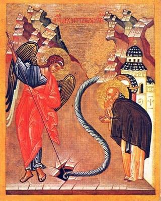 6 septembre Miracle de Saint Michel à Colosses Miracl10