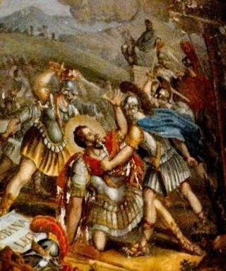 22 septembre Saint Maurice et ses compagnons Stmaur10