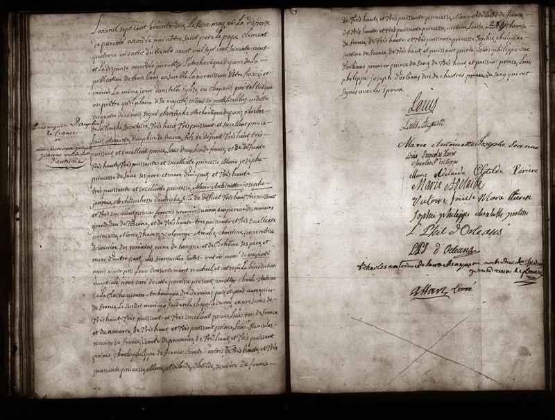 16 mai 1770: Mariage en personne du Dauphin et de Marie-Antoinette 1-512