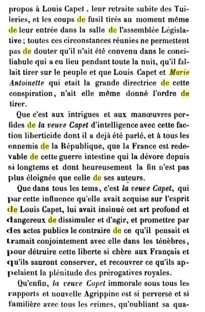 22 novembre 1793: Acte d'accusation de Marie-Antoinette 1010