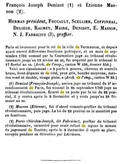 22 novembre 1793: Acte d'accusation de Marie-Antoinette 1510