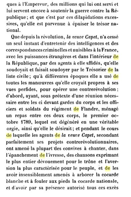 22 novembre 1793: Acte d'accusation de Marie-Antoinette 328