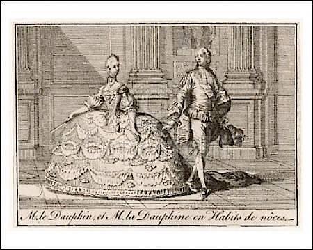 16 mai 1770: Mariage en personne du Dauphin et de Marie-Antoinette 414px-12