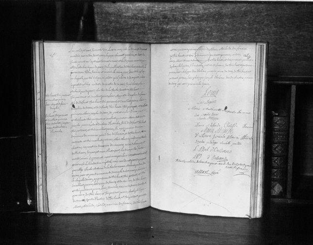 16 mai 1770: Mariage en personne du Dauphin et de Marie-Antoinette 414px-15