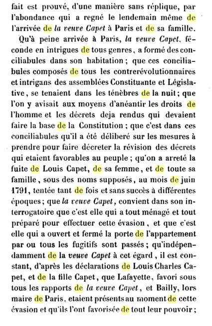 22 novembre 1793: Acte d'accusation de Marie-Antoinette 519