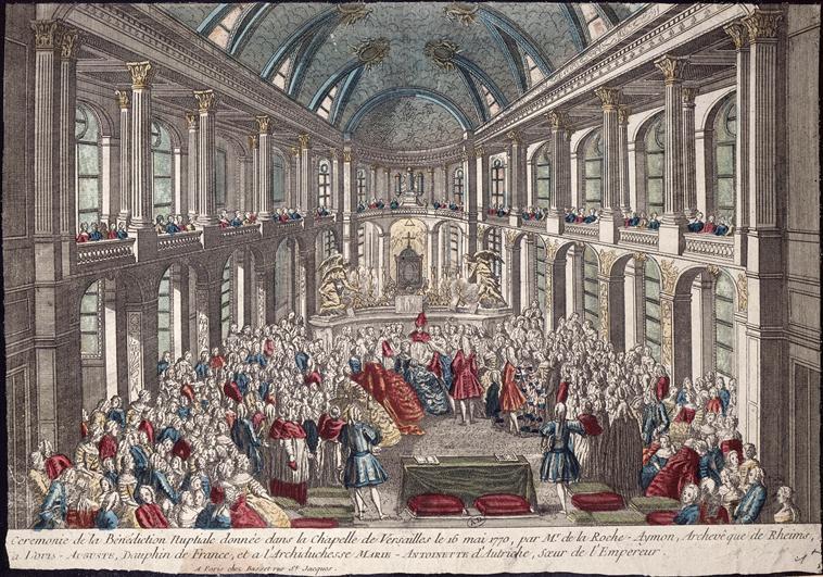 16 mai 1770: Mariage en personne du Dauphin et de Marie-Antoinette Caramo10