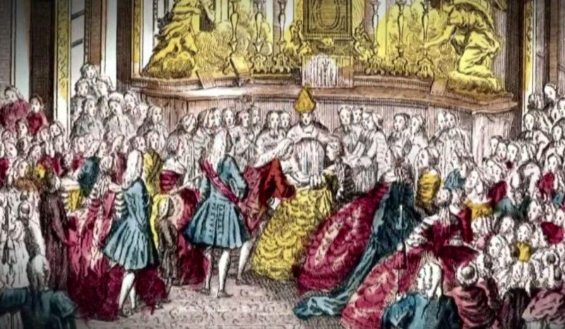 16 mai 1770: Mariage de Marie-Antoinette d'Autriche avec le futur Louis XVI Mariag12
