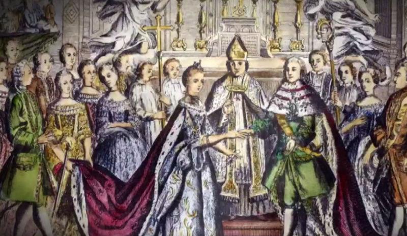 16 mai 1770: Mariage de Marie-Antoinette d'Autriche avec le futur Louis XVI Mariag13