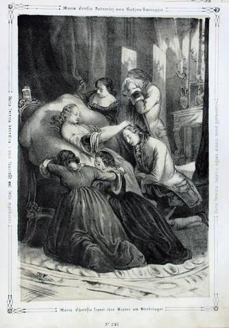 29 novembre 1780: Mort de Marie-Thérèse d'Autriche à 63 ans