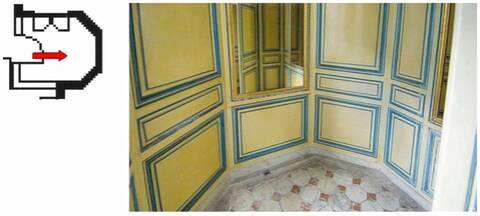 Second étage - Aile centrale - Appartement de Madame du Barry - 25 Cabinet  de chaise