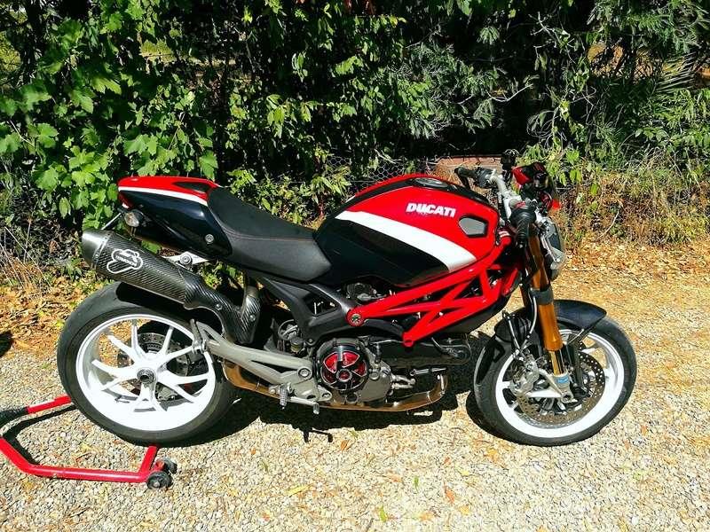 (VENDU) - DUCATI MONSTER 1100S ABS Corse – Etat neuf 20930510