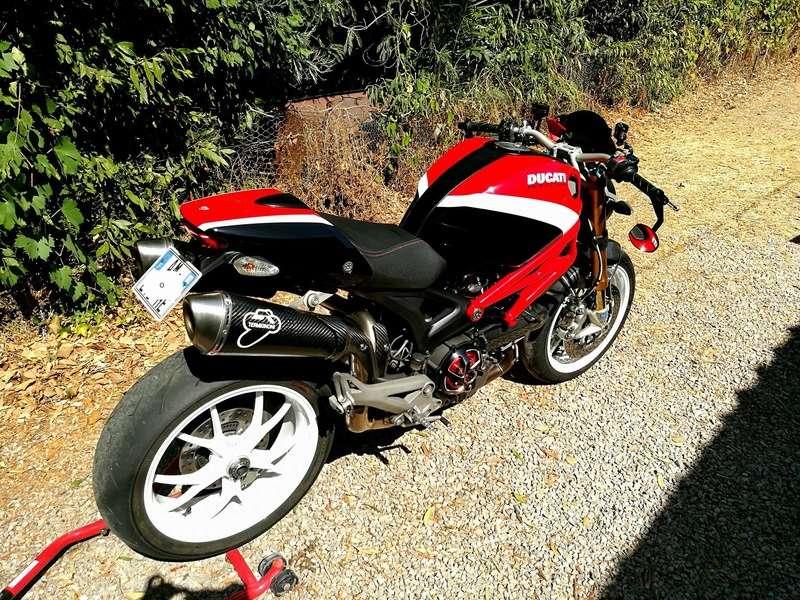 (VENDU) - DUCATI MONSTER 1100S ABS Corse – Etat neuf 20931110