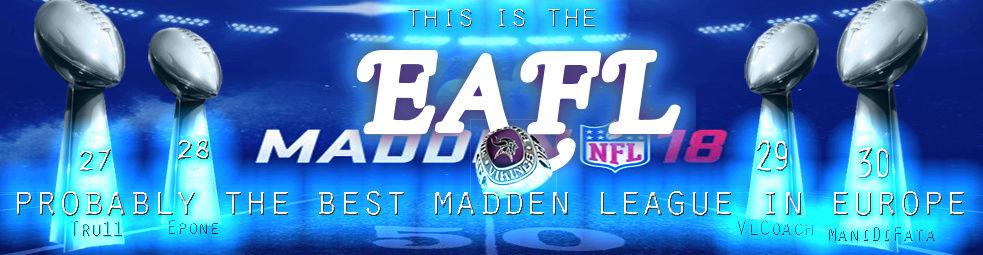The EAFL (European American Football League)