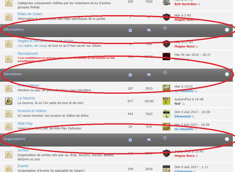 Faut-il supprimer les catégories qui séparent le forum? Hulhm10