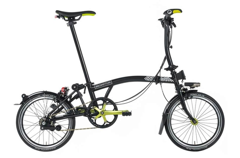 Brompton NYC Limited Edition volé à Bruxelles Basic Fit Brompt10