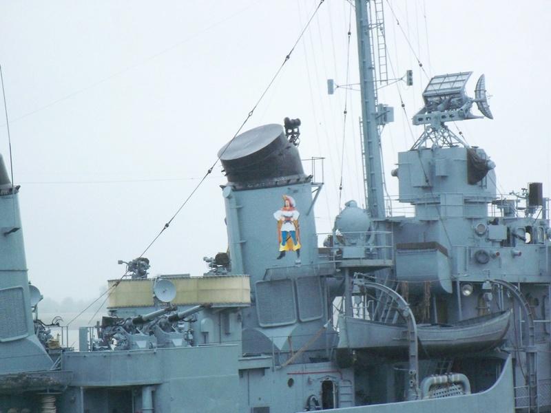 USS KIDD Fletcher Class Destroyer DD-661 Trumpeter 1/350 23278410
