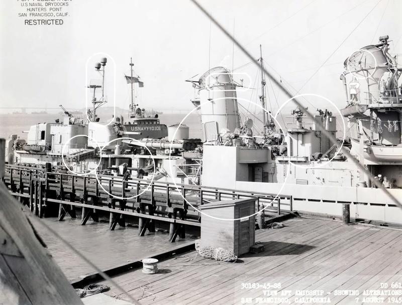 USS KIDD Fletcher Class Destroyer DD-661 Trumpeter 1/350 Dd661x11