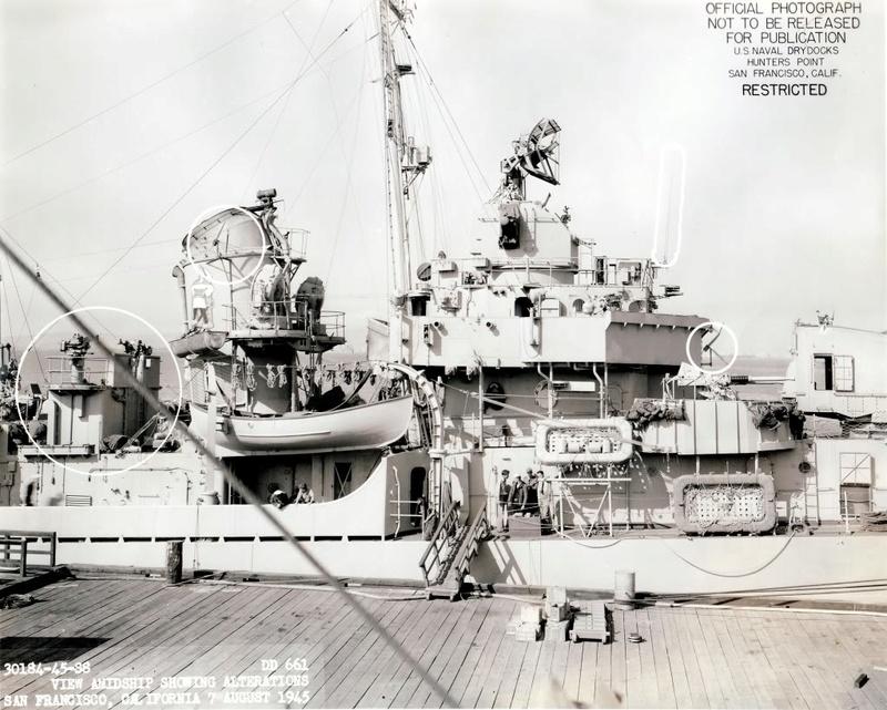 USS KIDD Fletcher Class Destroyer DD-661 Trumpeter 1/350 Dd661x12