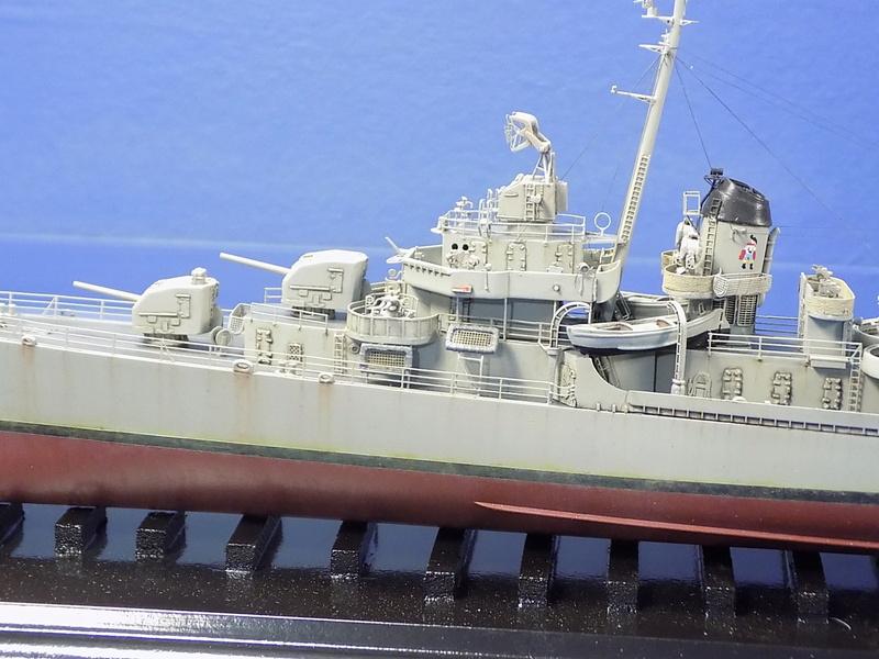 USS KIDD Fletcher Class Destroyer DD-661 Trumpeter 1/350 Dscn0835