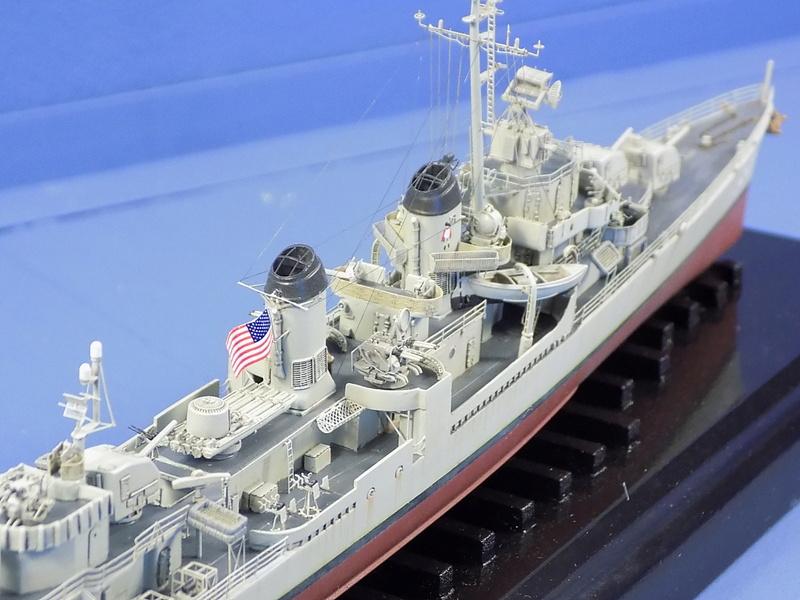 USS KIDD Fletcher Class Destroyer DD-661 Trumpeter 1/350 Dscn0840