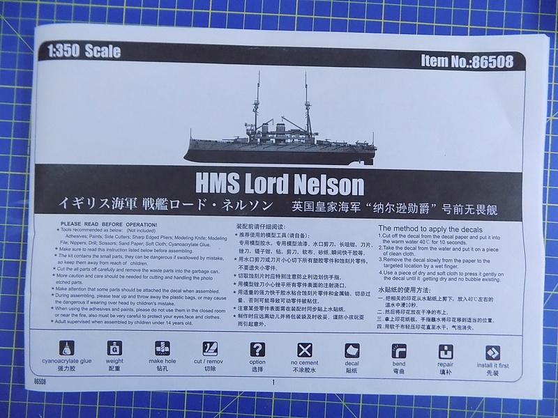 HMS LORD NELSON Hobbyboss 1/350ème Dscn0853