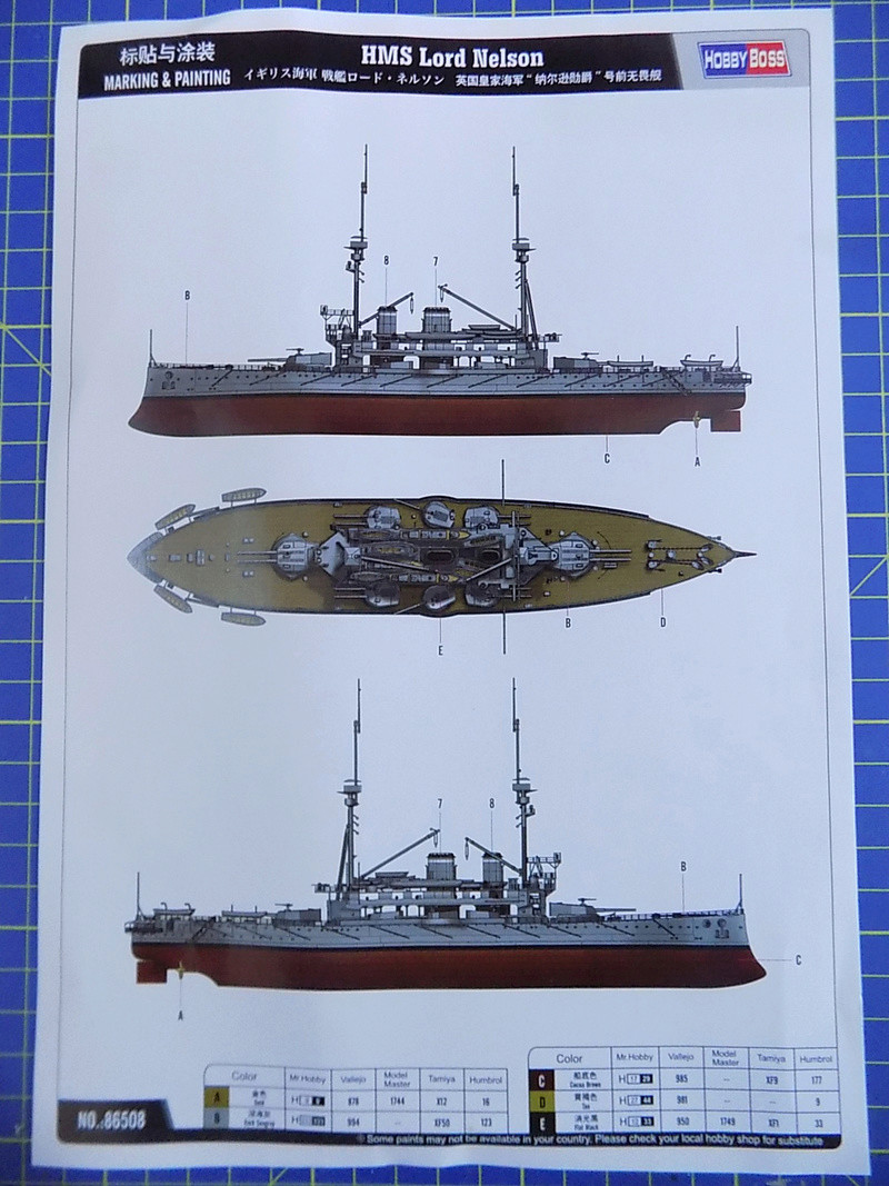 HMS LORD NELSON Hobbyboss 1/350ème Dscn0867