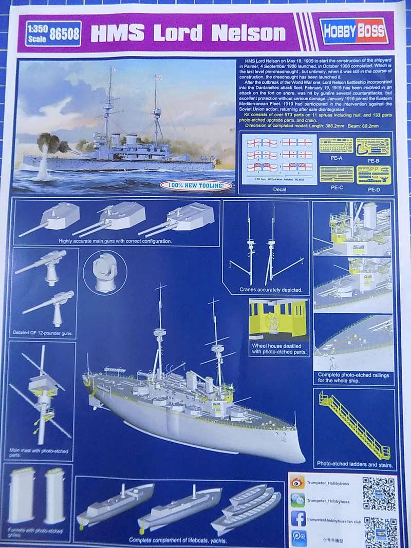 HMS LORD NELSON Hobbyboss 1/350ème Dscn0868