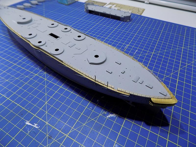 HMS LORD NELSON Hobbyboss 1/350ème Dscn0912