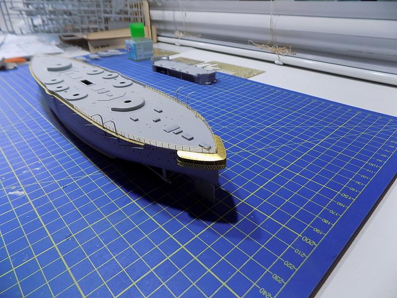 HMS LORD NELSON Hobbyboss 1/350ème Dscn0913