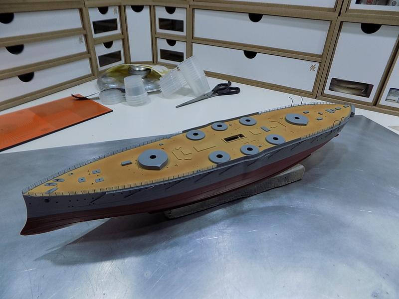 HMS LORD NELSON Hobbyboss 1/350ème Dscn0919