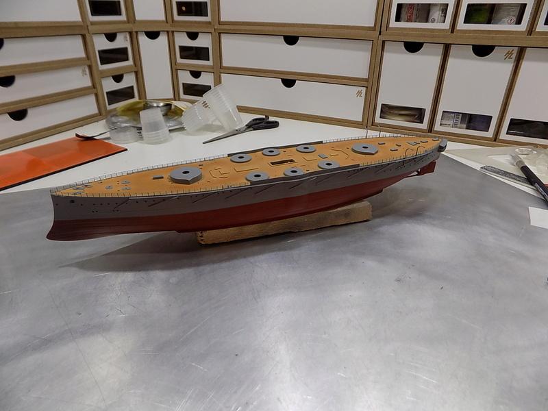 HMS LORD NELSON Hobbyboss 1/350ème Dscn0920