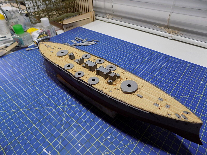 HMS LORD NELSON Hobbyboss 1/350ème - Page 2 Dscn0938